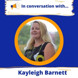 A Conversation with Kaleigh Barnett this Wednesday...