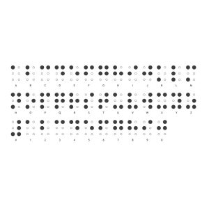 Braille helps more than 30,000 people in the UK to...