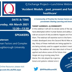 Calling @theQCommunity colleagues interested in #H...