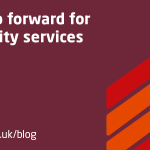 'Community services have seen some of the sharpest...