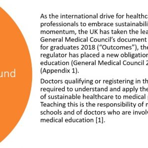 Glad to hear Newcastle & Sunderland Medical School...