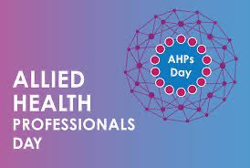 Happy Allied Health Professionals day 2020 to all...