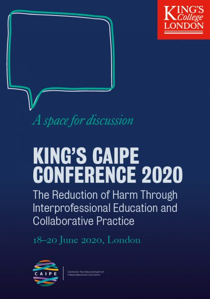 King's CAIPE Conference 2020 flyer-front