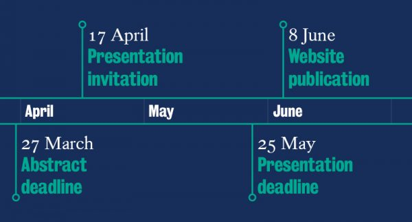 King's CAIPE Conference 2020 timeline