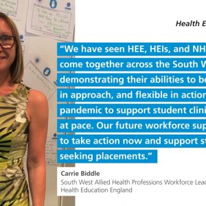 The collaborative work across the South West regio...